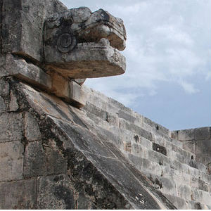 The Mayans had developed a sophisticated society, accurate calendars and complex architecture. Mayans thrived during rainy periods but a prolonged drought somewhere between 800 and 1100 A.D. is said to have brought about its collapse.