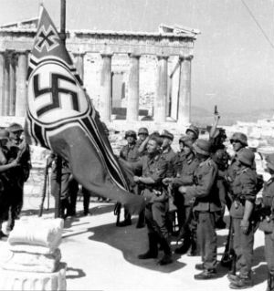 The Nazi occupation brought about terrible hardships for the Greek civilian population. Over 300,000 civilians died in Athens alone from starvation, tens of thousands more died because of reprisals by Nazis and collaborators, and the country's economy was ruined.