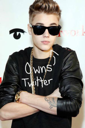 Tattooed Justin Bieber is anxious to shed his goody two-shoes image -- but it may very well backfire.
