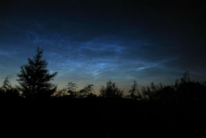 Noctilucent clouds are a rare, but beautiful phenomenon on Earth.
