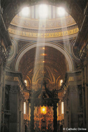 St Peters in Rome