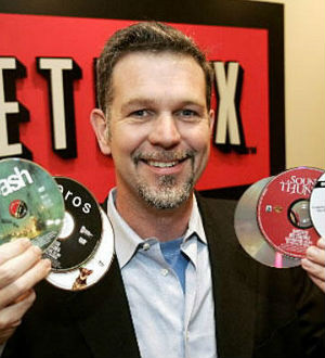 Netflix CEO, Reed Hastings, in an earlier pose from 2005, has disappointed some subscribers with fee hikes. The service is now set to drop 2,000 titles from its streaming library.
