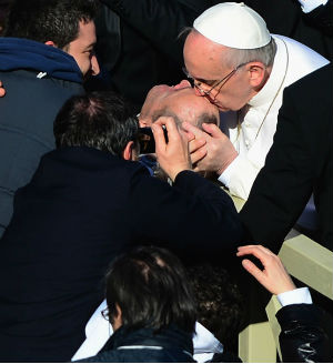 Pope Francis is already famous for his personal dedication to the sick and poor.