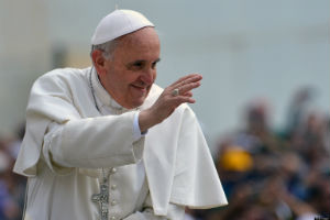 Pope Francis has called on Catholics to embrace change.