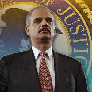 U.S. Attorney General Eric Holder has ordered an investigation into Internal Revenue Service political targeting of some conservative groups. 'The FBI is coordinating with the Justice Department to see if any laws were broken,' he told reporters. Even if none were, the actions 'were certainly outrageous and unacceptable,' Holder added.