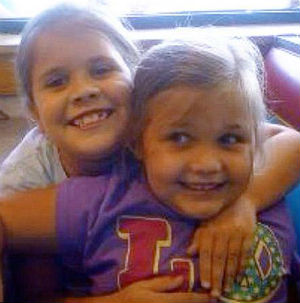 Antonia Lee Candelaria and Emily Conatzer, both nine years old, died when the Oklahoma tornado knocked down the Plaza Towers Elementary School. Inseparable in life, they died in each other's arms.