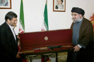 Syria has pledged to supply 'game changing' weapons to Hezbollah according to Hezbollah leader, Nasrallah.