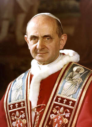 Prophetic Pope Paul VI