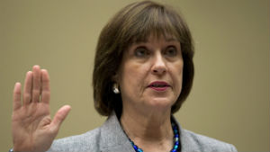 Lois Lerner swears to plead the fifth.