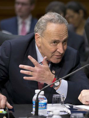 'I haven't seen anything that would prevent him from continuing to do his job,' Sen. Chuck Schumer (Dem - N.Y.), the third-ranking senator in the Democratic leadership told NBC's David Gregory.