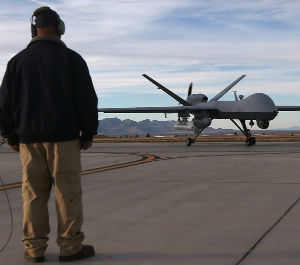 The Department of Homeland Security has been purchasing unarmed Predator aerial drones for border surveillance since 2005.