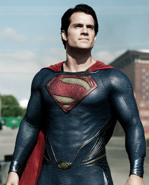 British actor Henry Cavill ditches the red trunks - but otherwise delivers a strong performance as the iconic 'Man of Steel' in the latest big screen interpretation of comic book hero Superman.