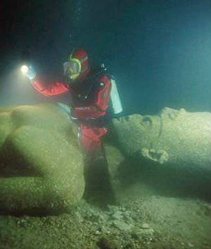 An international team of marine archaeologists is now preparing to show some of the objects found in the underwater city.