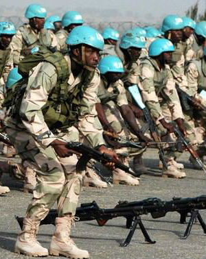 The peacekeeping deployment is only the second in Liberia's history, after it sent peacekeepers to Democratic Republic of Congo in the 1960s.