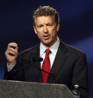 Kentucky Senator Rand Paul.