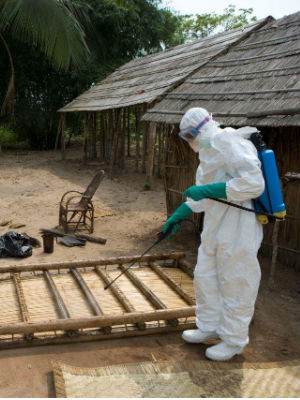 Ebola has long been feared as a disease that could be used in biological warfare by terrorists.
