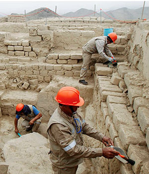 There had been fears that grave robbers would find out and loot the site. In hauling away treasures, looters destroy archaeological context and information, leaving researchers grasping for answers about how ancient people lived.