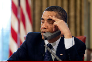 Obama can hear you now, whether you like it or not.