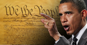 Obama believes himself to be an expert on Constitutional law.