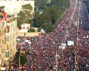 Millions have turned out to protest Morsi and his Islamist regime.