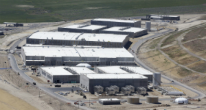 The NSA facility is larger than most people realize.