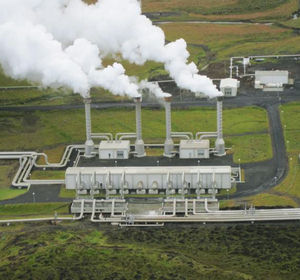 The majority of Kenya's energy needs are currently met by hydroelectric power. Hydropower is diminished during rain shortages, leading to Kenya's regular blackouts. Photo: Geothermal Power Plant.