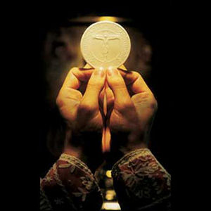 The Holy Eucharist.