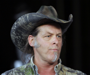 Ted Nugent believes Trayvon Martin is responsible for his shooting.
