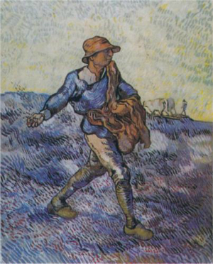 The sower went out to sow