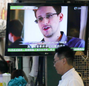 Edward Snowden was first hiding out in Hong Kong and is believed still holed up at a Moscow-area airport.