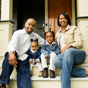 The rate for black home ownership reached almost 50 percent in the second quarter of 2004 from about 43 percent in 1995, Census Bureau data show.