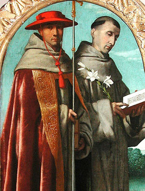 Bonaventure and Francis, friends, co-laborers, and saints