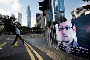 'I don't want to live in a world where everything that I say, everything I do, everyone I talk to, every expression of creativity or love or friendship is recorded,' Edward Snowden says.