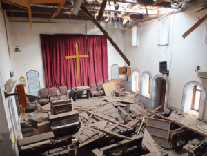 Catholic churches in Syria are being attacked by terrorists affiliated with the rebels.