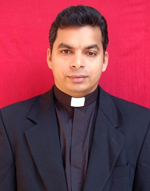 Fr Dr Santhosh Sebastian Cheruvally is a priest of the Catholic Diocese of Gorakhpur in North India and is currently a  professor of Dogmatic Theology at St Joseph's Regional Seminary, Allahabad, India, affiliated with the Pontifical Urban University, Rome.
