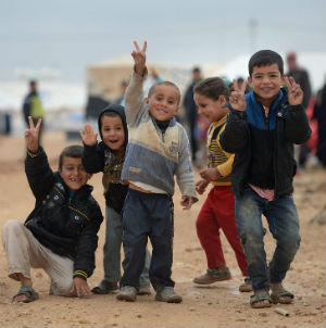 Two agencies with the United Nations say that child refugees fleeing Syrian violence have topped the one million mark. It's yet another grim milestone for a raging two-year conflict that seemingly has no end in sight.