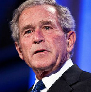 Former President George W. Bush is reportedly in 'high spirits' and is 'eager to return home tomorrow and resume his normal schedule on Thursday.'