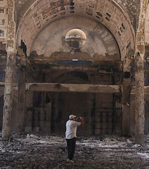 Attackers set fire to a Christian youth center in Fayoum. A 4th century church, one of the oldest in Egypt was reportedly destroyed. Scores of other churches and Copt homes were attacked.