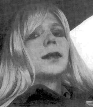 Bradley Manning's defense team presented an email to a former supervisor from April 2010 in which he said he was transgender and joined the Army to 'get rid of it.' The email had the subject line 'My Problem' and included a photo of Manning sporting a blonde wig and lipstick.