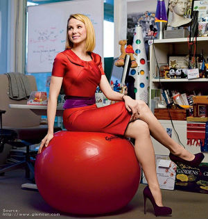 This should be encouraging news for Yahoo CEO Marissa Mayer, a Google veteran who has focused on overhauling Yahoo's image.