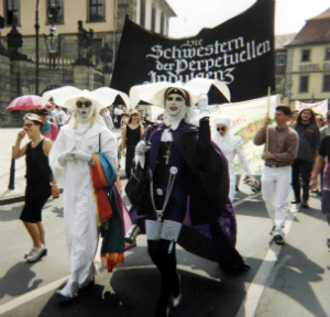 The Sisters of Perpetual Indulgence in Germany. These are homosexual men.