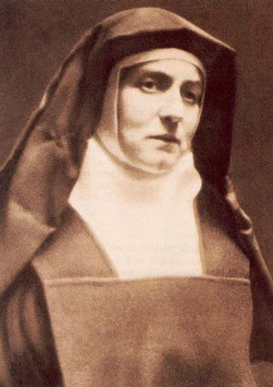 St. Teresia Benedicta a Cruce, Edith Stein, Catholic feminist, philosopher and martyr of Auschwitz: Throughout her life, Edith never renounced or denounced her Jewish identity. Rather, as demonstrated in her memoir, her participation in Jewish customs at home, her letter to the Pope and in her correspondences, she spoke of her Jewish roots as intrinsic to her self-identification, to her views and even to aspects of her vocation