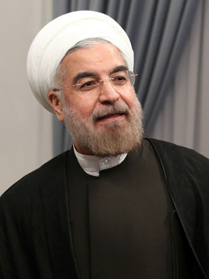 'The Iranian people voted 'yes' to moderation,' newly elected Iranian President Hassan Rowhani declared in a speech. 'The Iranian people want to live free.'