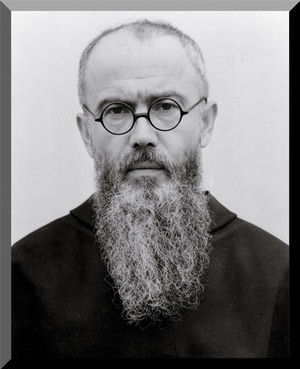 St maximilian kolbe priest martyr and model of heroic for Castorama st max