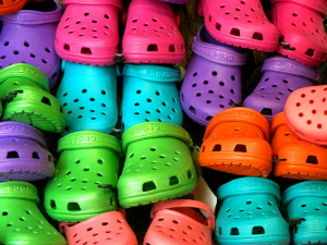 The brightly colored Crocs are often maligned as being offensive to the eye. With new selection, the brand shows it isn't dead yet.