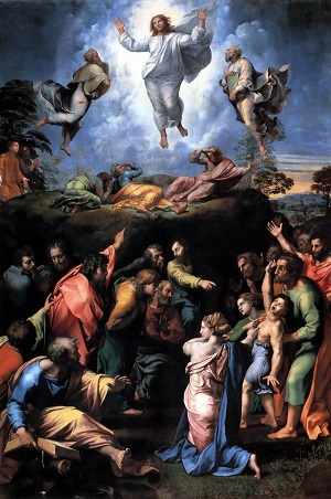 The Transfiguration of the Lord Jesus Christ: On that Mountain, Jesus revealed before mortal eyes the Transcendent Truth of who He is - and who Peter, James and John - and each one of us - will become in Him. They were invited to exercise their freedom and embrace the path that He had prepared.
