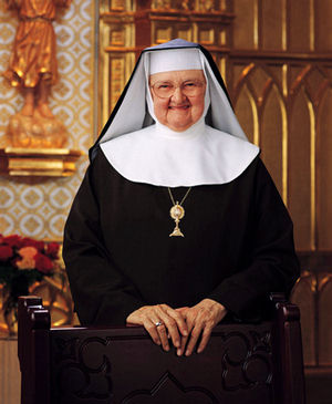 Mother Angelica is made of something as tough as the steel she leans on. This Poor Clare nun from Ohio has single-handedly built a multimillion-dollar television and radio complex on the outskirts of Birmingham, Alabama, and created one of the most successful, influential Catholic broadcasting networks in the world.