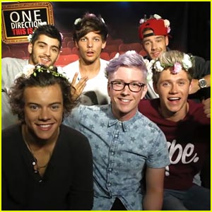 Opening overseas, 'One Direction' grossed $14.5 million from 53 markets, including a No. 1 debut in the United Kingdom with $5.7 million.