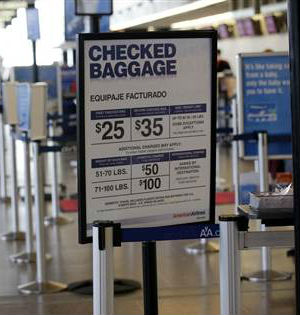 For added fees for checked luggage, early boarding to pillows, travelers know to bring plenty of discretionary cash.
