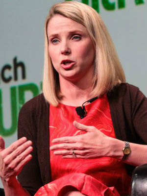 Marissa Mayer said she that she was 'proud to be part of an organization that from the beginning, in 2007, has been skeptical of - and has been scrutinizing - those requests [from the NSA].'